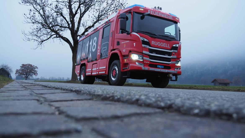Tanklöschfahrzeug (TLF) Ruggell 1